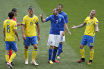 Встреча Италии и Швеции на ЧЕ-2016