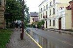 Последствия непогоды в Гродно