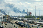 Пожар на предприятии Полимир в Новополоцке