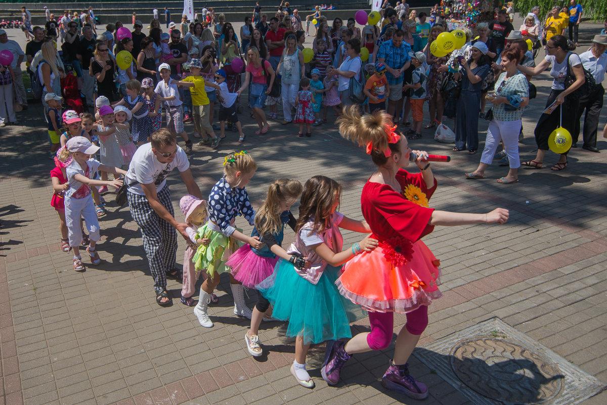 День отца в столичном парке Горького