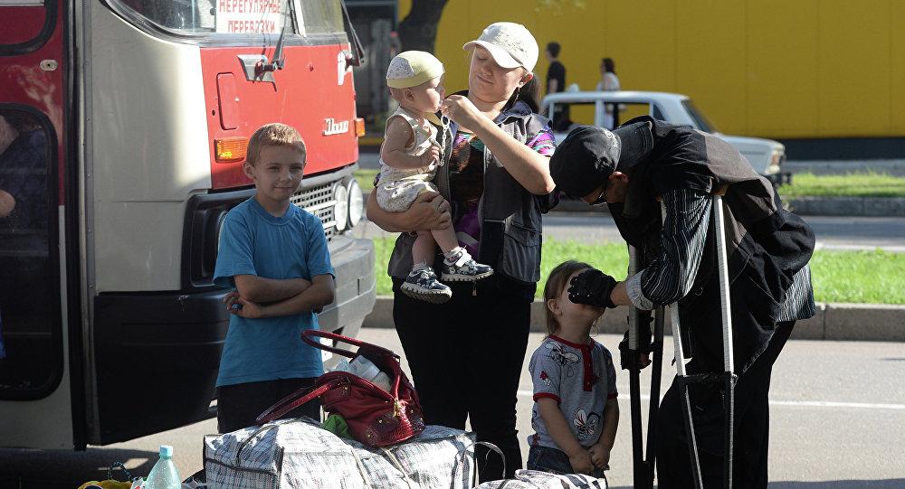 Бежанцы з Данецку