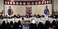 Православные религиозные лидеры Всеправославном Соборе недалеко от города Ханья на острове Крит