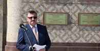 Министр экономики Беларуси Владимир Зиновский на открытии Республиканской доски почета