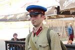 Реконструктор из Санкт-Петербурга Роман Панов