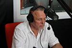 Вице-президент НОК Владимир Коноплев в студии радио Sputnik Беларусь