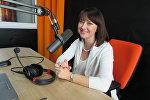 Ирина Дорофеева в студии радио Sputnik Беларусь