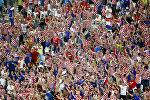 Болельщики сборной Хорватии по футболу на Евро-2016