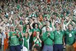 Болельщики сборной Ирландии по футболу
