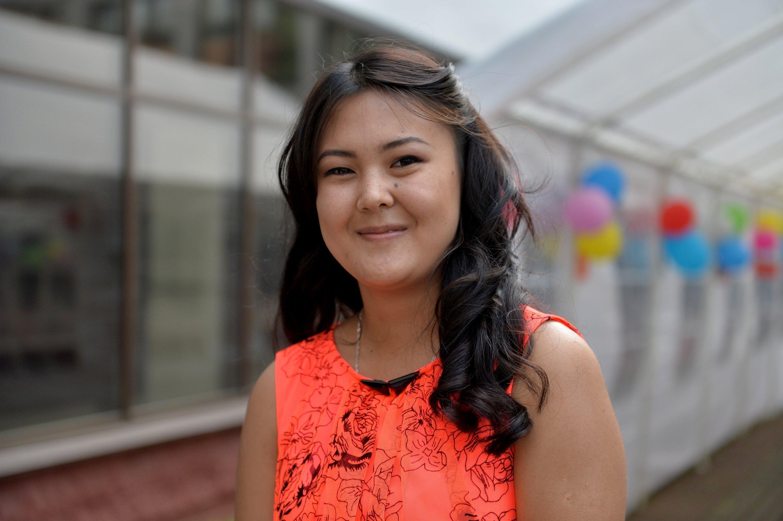 Луиза приехала из Кыргызстана по программе обмена