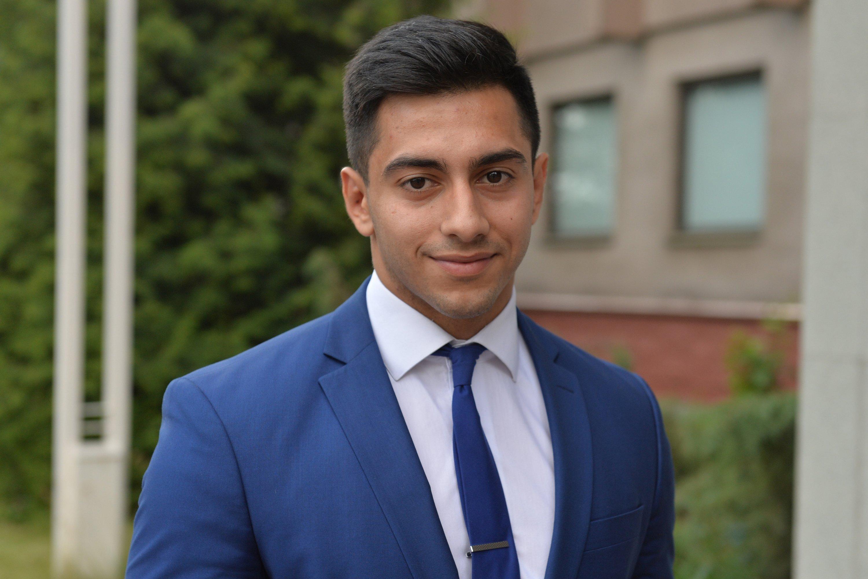 Выпускник БГУ из Азербайджана