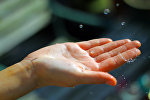 Детская рука. Архивное фото