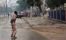 Боевые действия на улицах Сомали