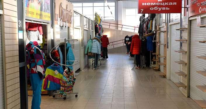Торговый павильон в ТД Ждановичи