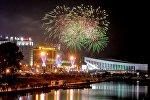 Кульминация Дня города - салют над Минском.