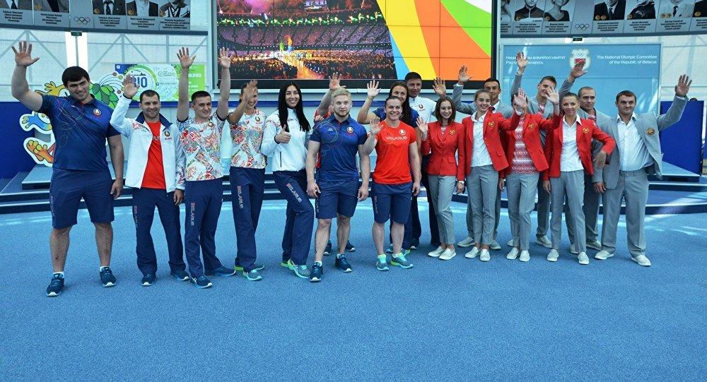 Белорусские спортсмены поедут наОлимпиаду в«вышеформе»