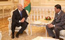 Встреча Александра Лукашенко и председателя Национального законодательного собрания Таиланда Понпеча Вичитчолчая