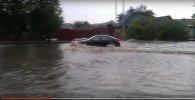 Наводнение в Бобруйске полностью парализовало движение