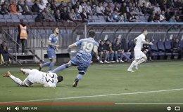 Кадр из промо-ролика АБФФ о белорусском футболе
