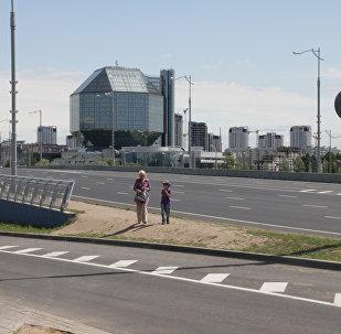 Развязка пересечении улицы Филимонова и проспекта Независимости