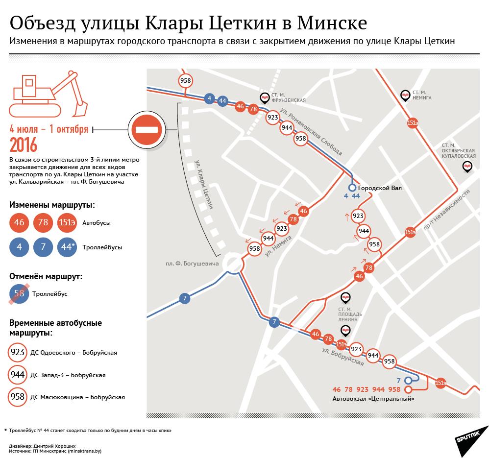 схема движения гор транспорта гомель