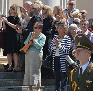 Прощание с Ростиславом Янковским