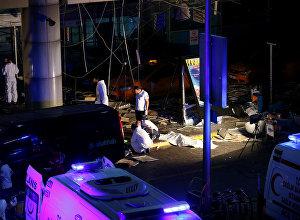 Теракт в аэропорте Стамбула