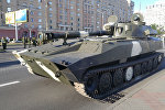 Военная техника в центре Минска