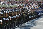 Плац-концерт Сводной роты Почетного караула.