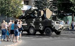 Посмотреть на танки: зрители наблюдали репетицию парада 3 июля