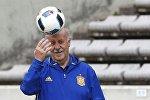 Испанский футбольный тренер Висенте дель Боске