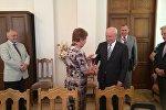 Глава ЦИК вручила удостоверение главе миссии наблюдателей СНГ