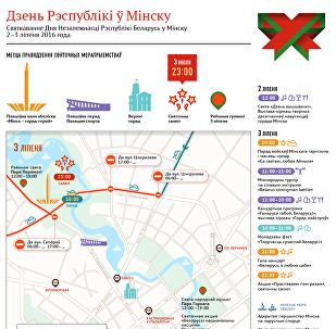 Дзень Рэспублікі ў Мінску