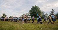 Католический фестиваль в Будславе