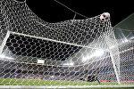 Мяч в воротах сборной Италии