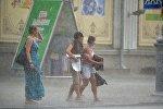 Дождь 3 июля в Минске