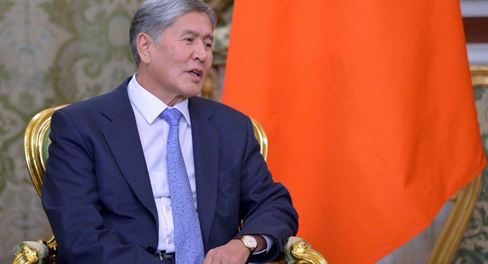 Президент Киргизии выпустил свой 1-ый клип