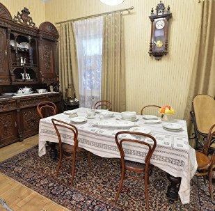 Экспазіцыя музея Янкі Купалы
