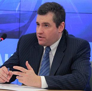 Председатель комитета Государственной Думы РФ по делам СНГ и связям с соотечественниками Леонид Слуцкий