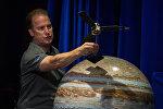 На пресс-конференции, посвященной миссии зонда Juno