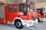Пожарные автомобили МЧС Азербайджана