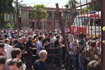 Протесты в Сухуми