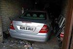 Спрятанный в гараже Mercedes
