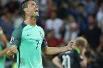 Игрок сборной Португалии Криштиану Роналду