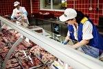 Продавец в гипермаркете