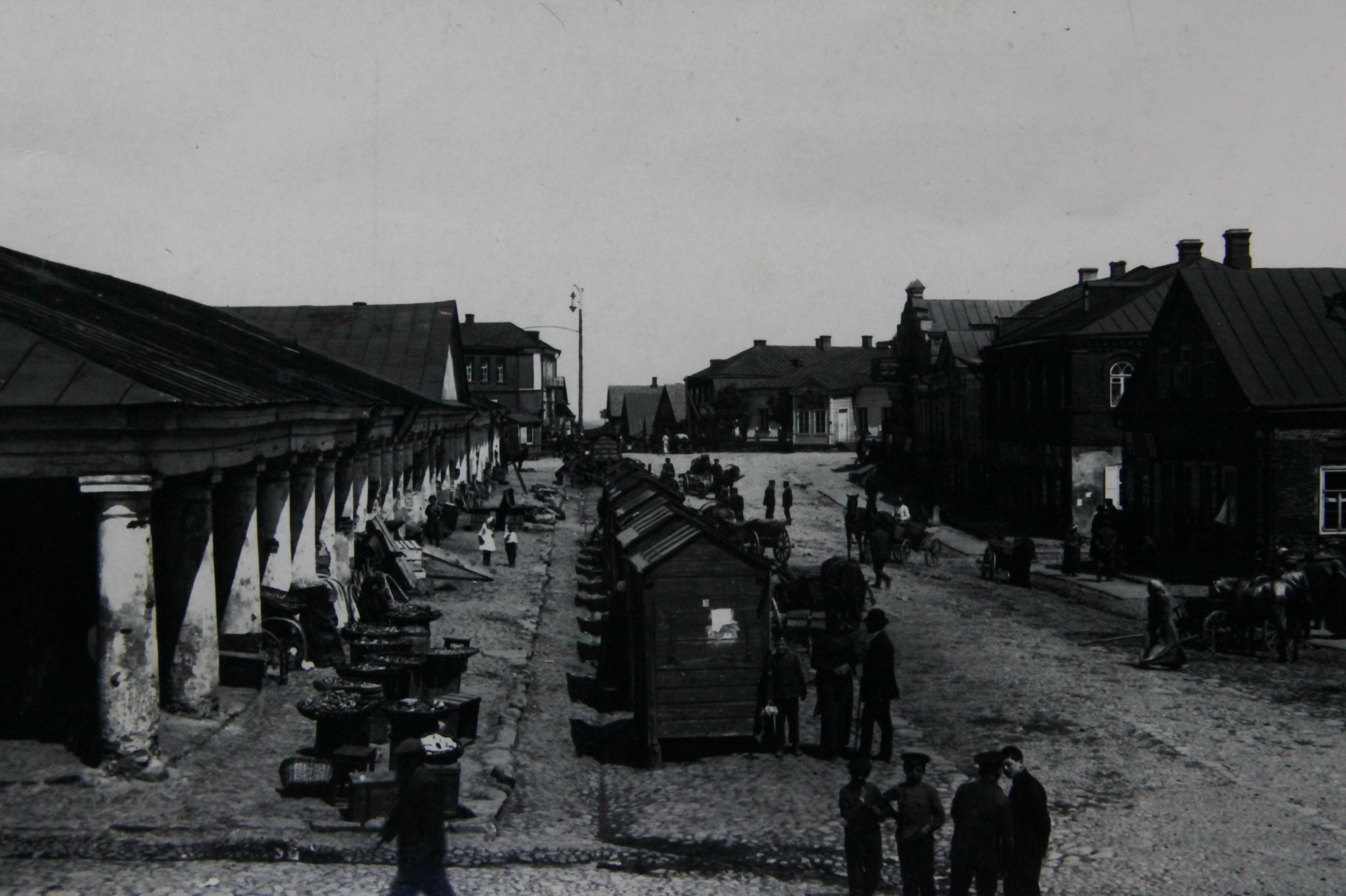 До войны Новогрудок был классическим еврейским местечком