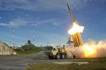 Высокотехнологичная противоракетная система THAAD, предназначенная для перехвата баллистических ракет