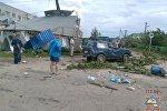 Последствия непогоды в Шарковщине
