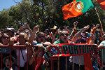 Португальцы встретили чемпионов Евро-2016 в Лиссабоне