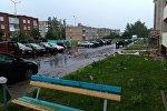 Дзержинск после непогоды 12 июля