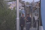 СПУТНИК_Премьер-министр Италии осмотрел место столкновения двух пассажирских поездов